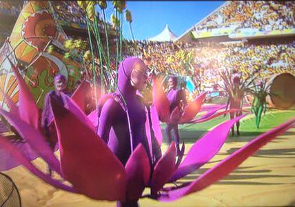 Cérémonie d'ouverture de la Coupe du Monde 2014