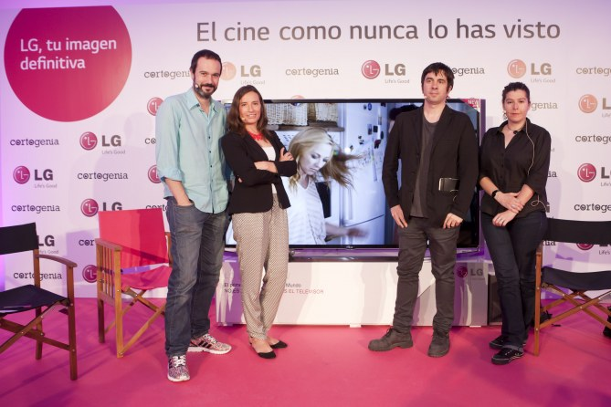 Nacho Rubio, Anais Moreno, Eduardo Chapero-Jackson y Belen Santos