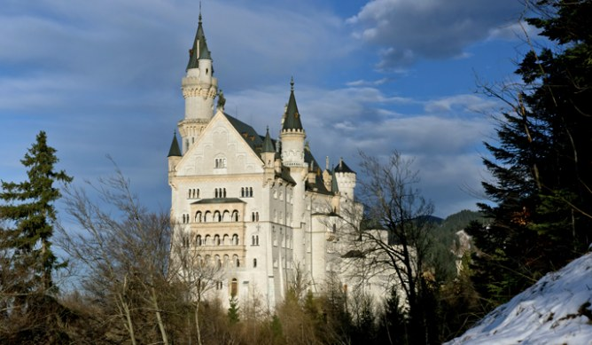 Il Castello di Neuschwanstein in Germania