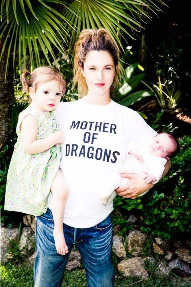 Drew Barrymore et ses filles
