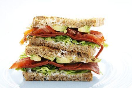 Club sandwuch veggie