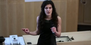 Marie-Charlotte Morin, grande gagnante du concours Ma thèse en 180 secondes