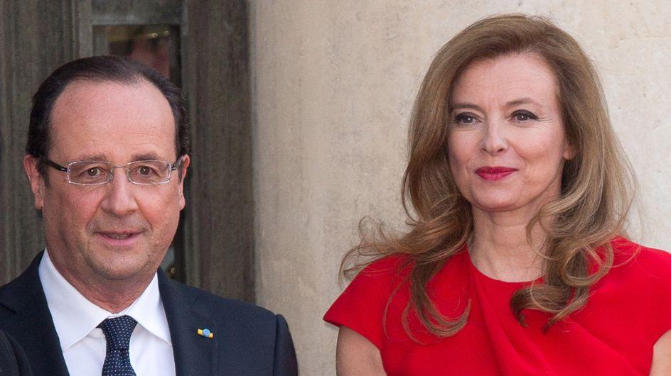 """Valérie Trierweiler : Avec François Hollande, """"les choses s'apaisent"""""""