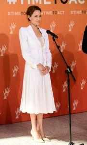 Angelina Jolie à Londres cette semaine