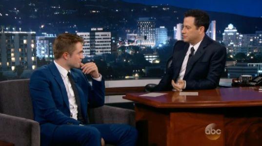 Robert Pattinson chez Jimmy Kimmel