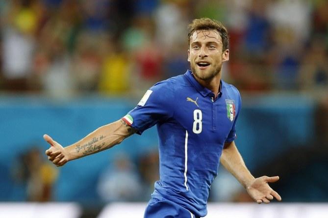 Claudio Marchisio esulta