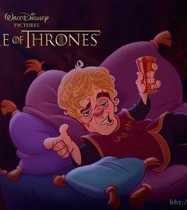 Come sarebbero i personaggi di Game Of Thrones se diventassero un cartone animat