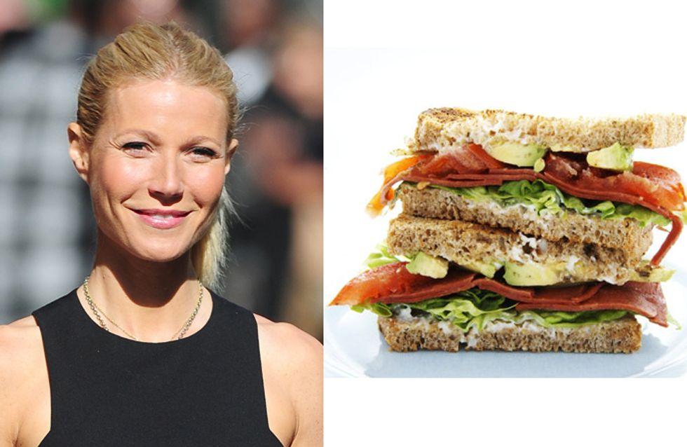 Gwyneth Paltrow : Sa recette revisitée du club sandwich pour l'été