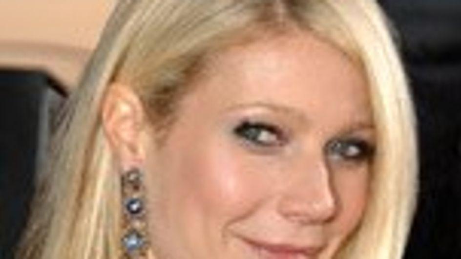 Gwyneth Paltrow maquillada por Estée Lauder en el estreno de Ironman