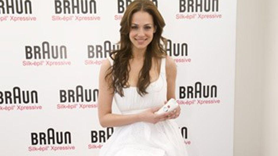 La modelo Eva González presenta la nueva Braun Silk-épil Xpressive