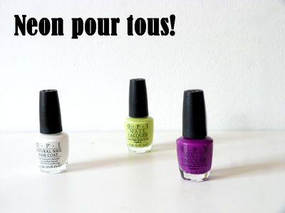 Neons by OPI