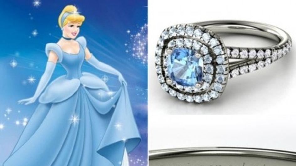 Des bagues de fiançailles inspirées des princesses Disney