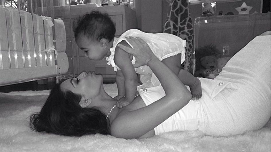 Kim Kardashian : Des diamants pour le premier anniversaire de North