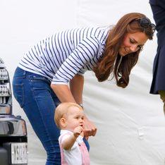 Prince George : Ses premiers pas font la Une de la presse (Photo)