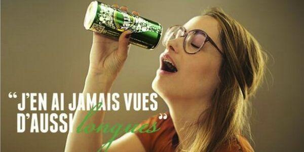 Perrier, la nouvelle publicité sexiste