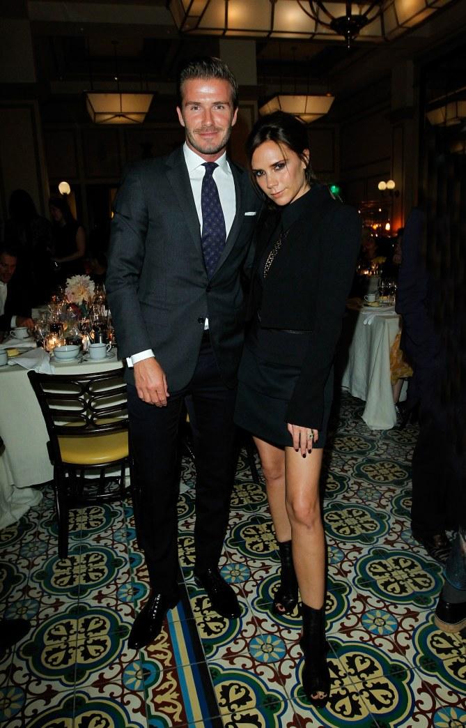 Victoria Beckham et David