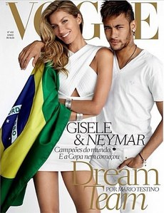 Gisele Bundchen et Neymar