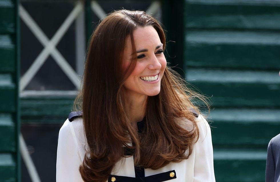 Kate Middleton : Emue, elle retourne sur les traces de sa grand-mère
