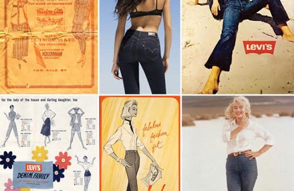 Levi's célèbre les 80 ans du jean pour femme !