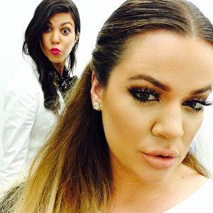 Khloé et Kourtney Kardashian