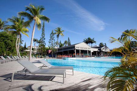 La piscine de La Créole Beach Hôtel & Spa