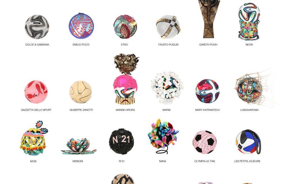 Mondiali 2014: ecco come la moda si dà alla beneficenza