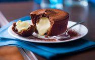 Un fondant au chocolat, avec du chocolat blanc qui coule, J'EN VEUX !