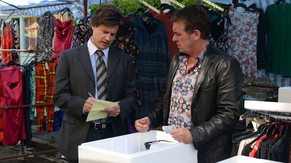 Eastenders 30/06 – Alfie's latest moneymaking scheme gets off to a disastrous start