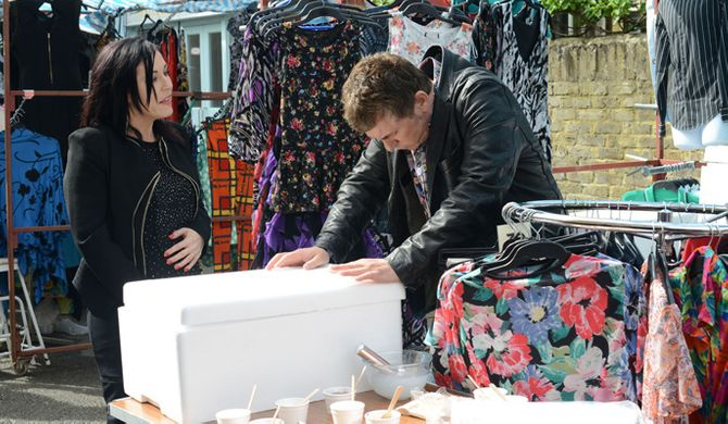 Eastenders 30/06 – Alfie's latest moneymaking scheme gets off to a disastrous start
