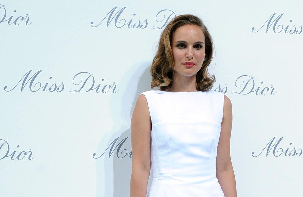 Natalie Portman : Radieuse pour l'exposition Miss Dior à Shangai