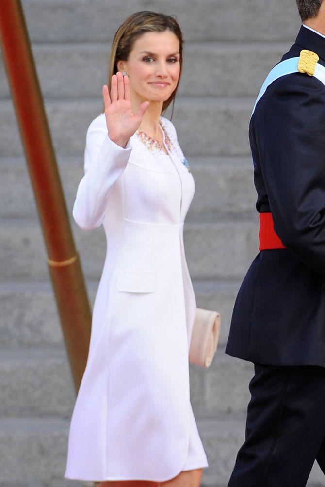 Letizia, la nouvelle reine d'Espagne