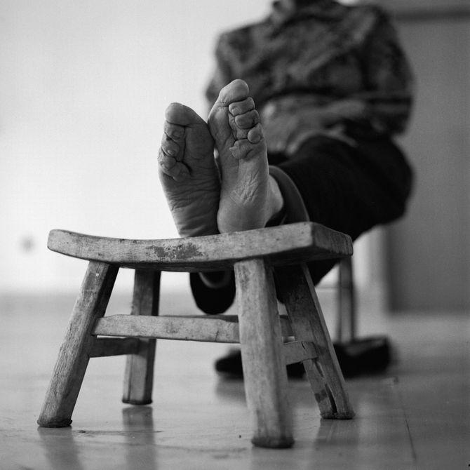 """Les """"pieds bandés"""""""