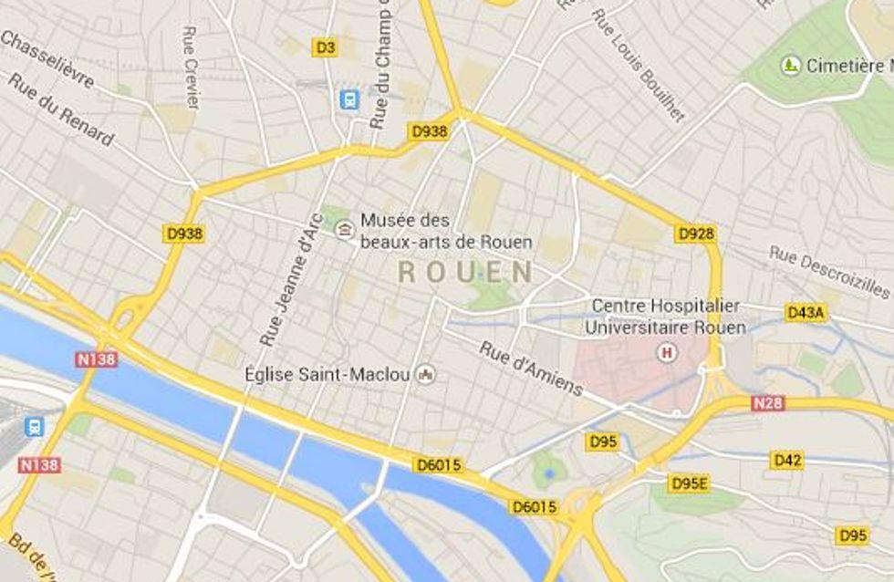 Rouen : Découverte d'un bébé abandonné dans un buisson