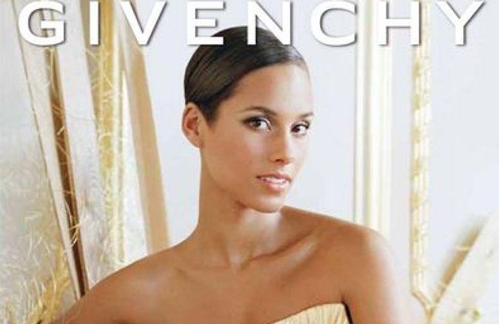 Alicia Keys : Divine égérie pour le nouveau parfum Givenchy (Photo)