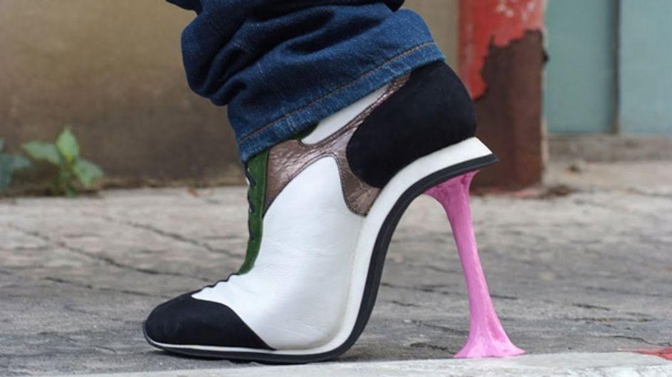 ¿Creías que lo habías visto todo? Estos son los zapatos de tacón más raros del mundo