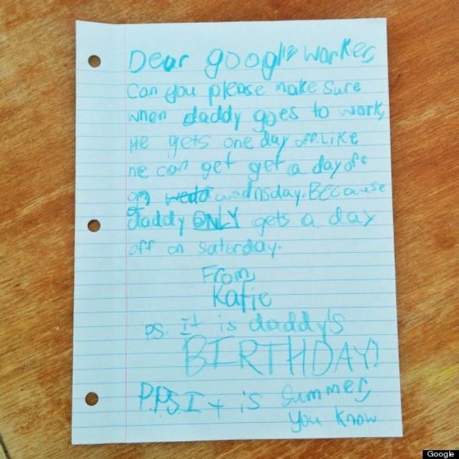La lettre de Katie