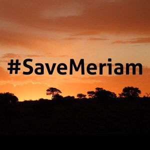 #SaveMeriam
