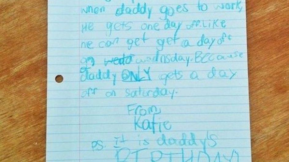 Alles nur für Daddy: Ein kleines Mädchen schreibt einen Brief an Google. Die Antwort wird euch überraschen!