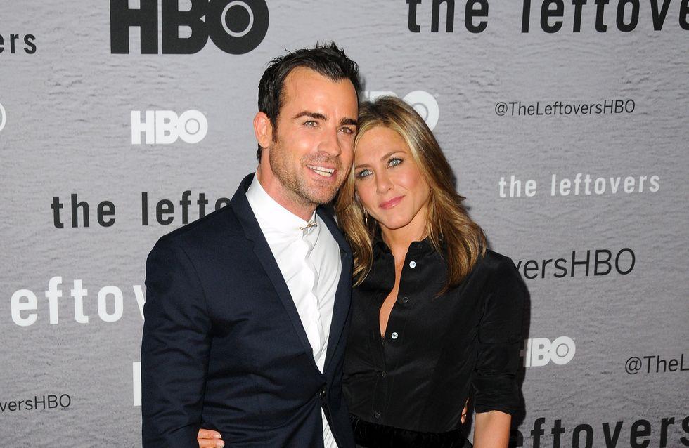 Aniston-Theroux più innamorati che mai. Le foto che smentiscono la crisi tra i due attori!