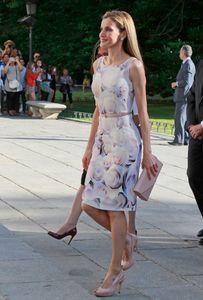 Su majestad la reina Letizia