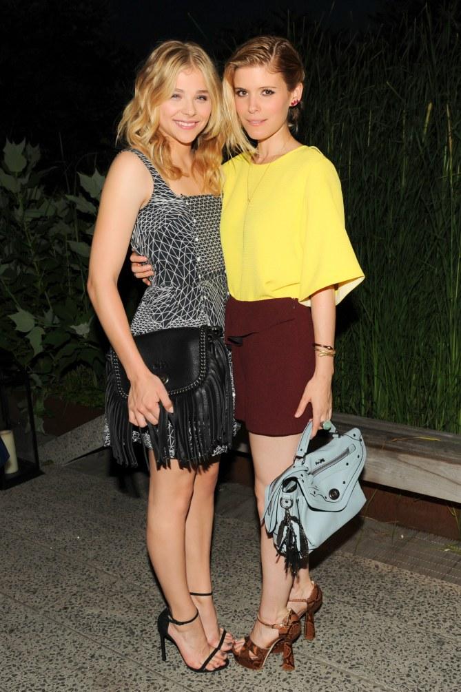Chloë Moretz y Kate Mara