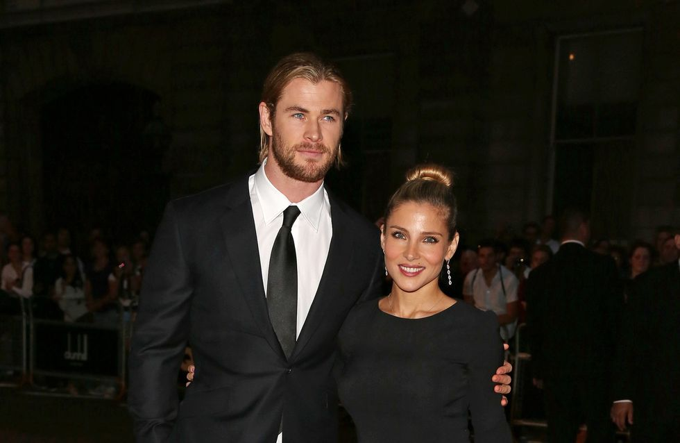 Chris Hemsworth prohibe a Elsa Pataky posar para Playboy