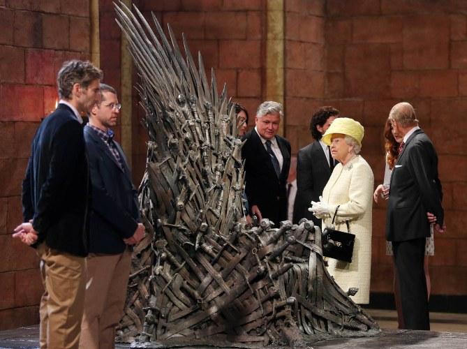 Elizabeth II sur les traces Game of Thrones
