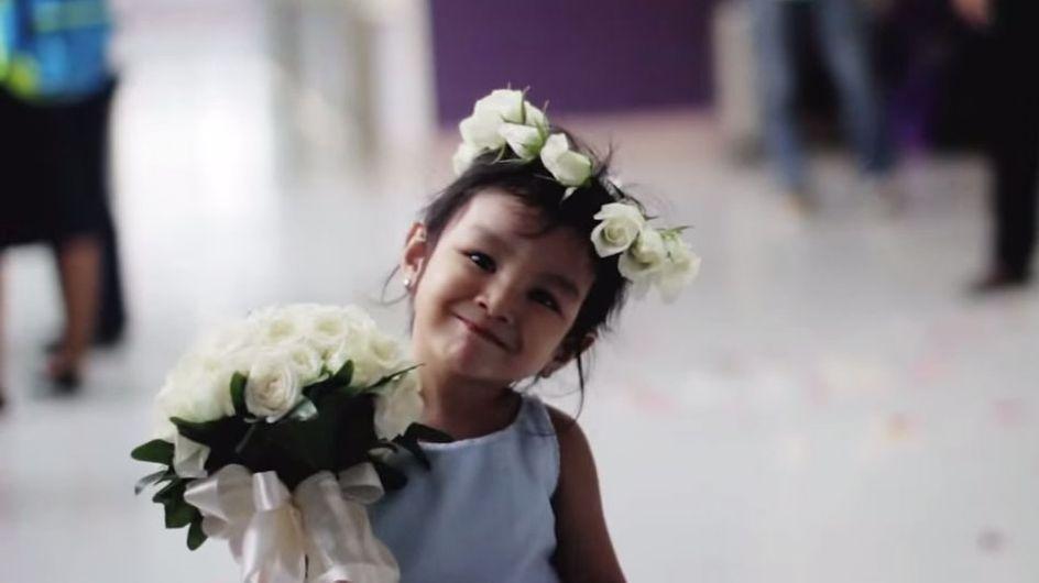 La boda más conmovedora jamás vista: ¡el amor verdadero no tiene límites!