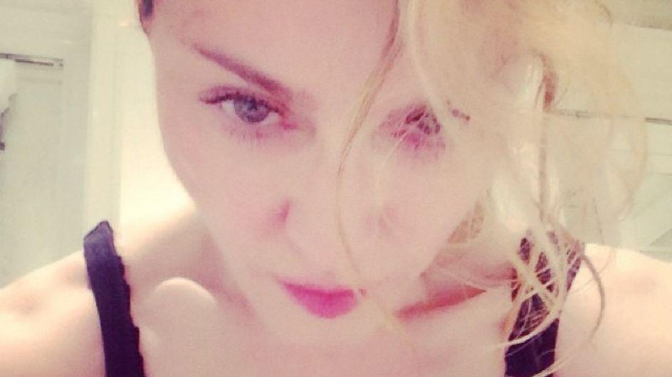 Madonna en Burqa : La photo qui ne passe pas