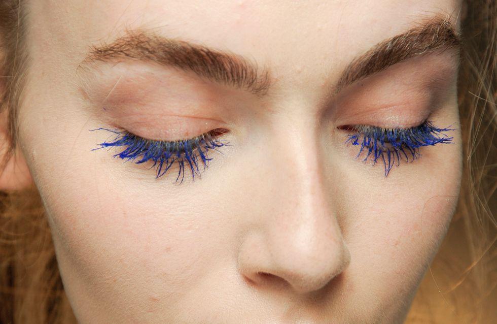 Session beauté : la tendance mascara coloré
