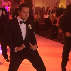 ¡Todos a la pista de baile! Un novio sorprende en su boda con una coreografía muy original