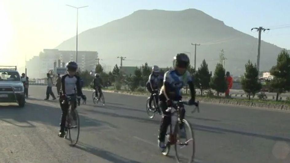 Afghanistan : Les femmes à vélo, symbole de liberté