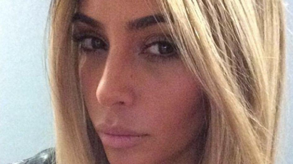 Kim Kardashian torna bionda? No, è solo una parrucca. Le foto dello scherzo su Instagram!
