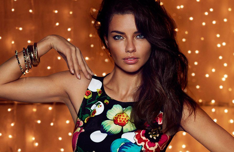 Kampagne für Herbst/Winter 2014: Adriana Lima modelt wieder für Desigual!